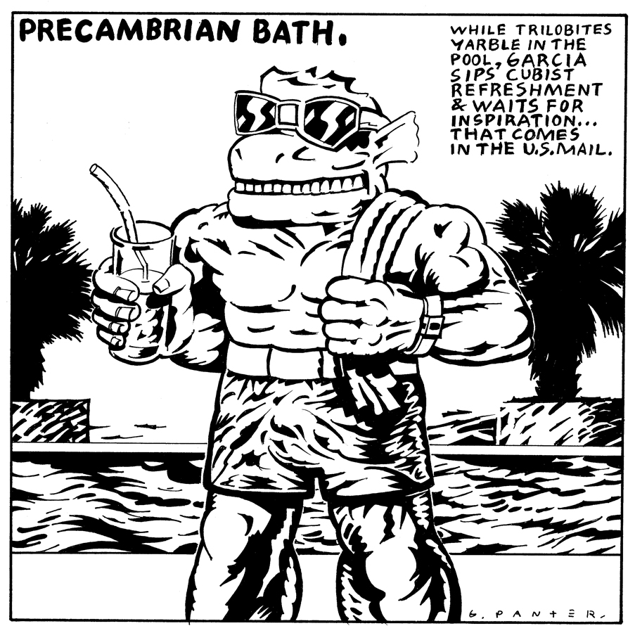 Gary Panter, Wet, Magazine, Precambrian Bath