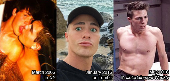 Colton Haynes, comes out, coming out, gay, homosexual, actor, Arrow, Teen Wolf
