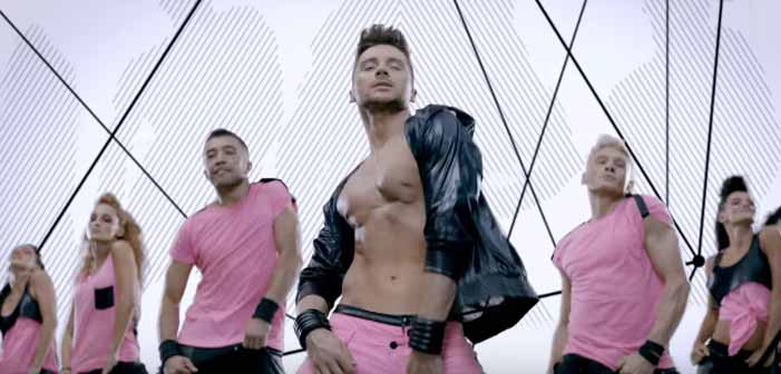 Sergey Lazarev, Russia, Eurovision 2016, gay, sexy, shirtless, music video, Take It Off