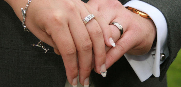 holding hands, marriage, heterosexual, white, rings, nails