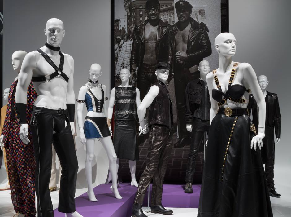 queer history of fashion, gay aesthetic, museum at fit, fashion