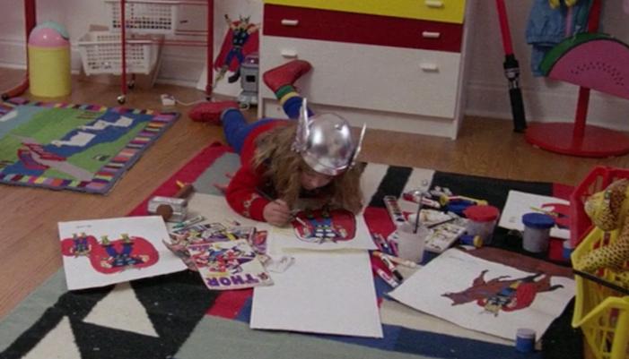 thor, adventures in babysitting, chris columbus, marvel comics