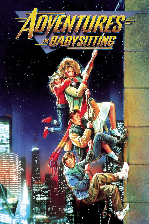 adventures in babysitting, elisabeth shue, anthony rapp, poster, movie