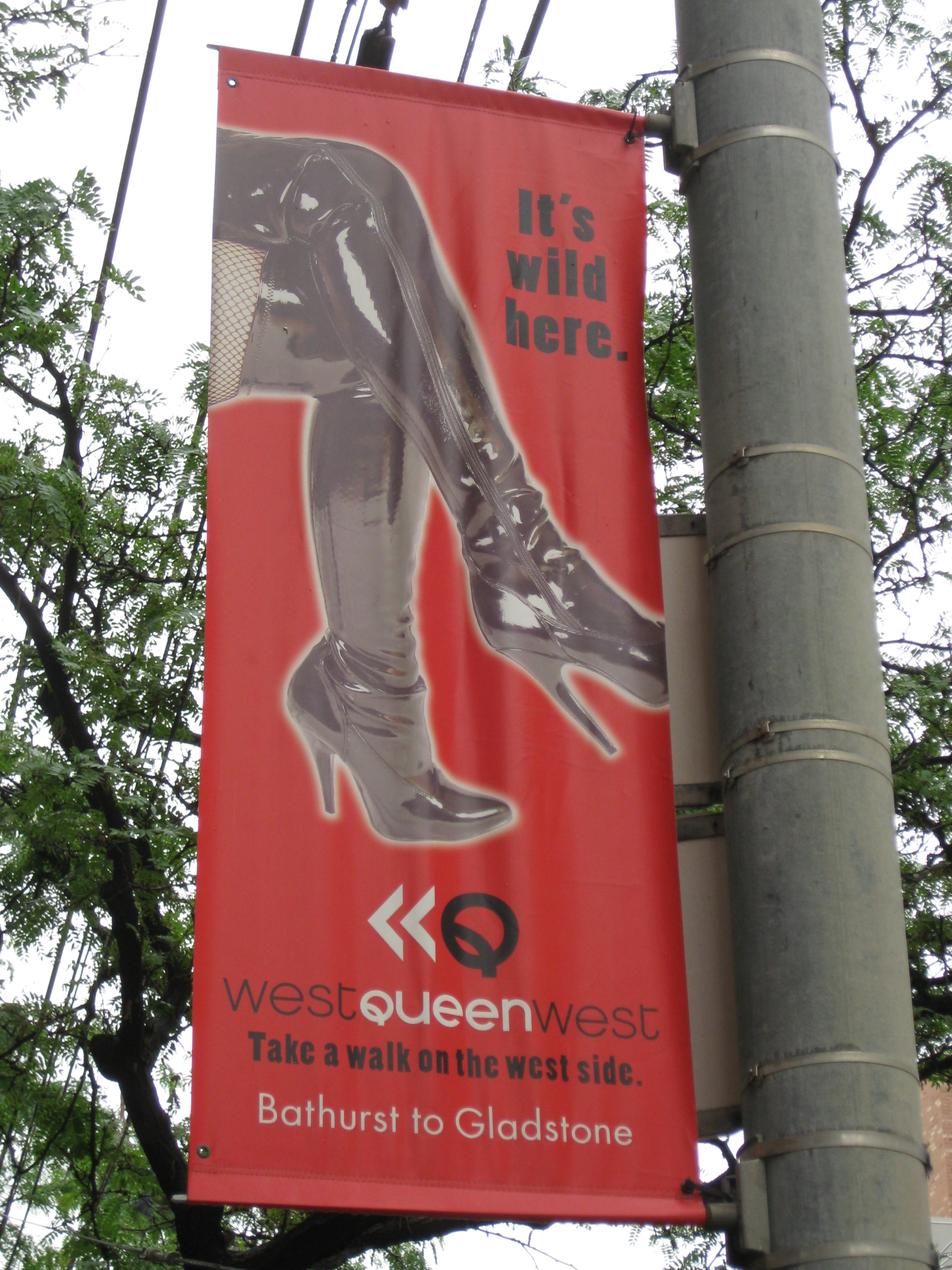 Queen Street West, Queen West, Toronto, Ontario, Post-Gayborhoods