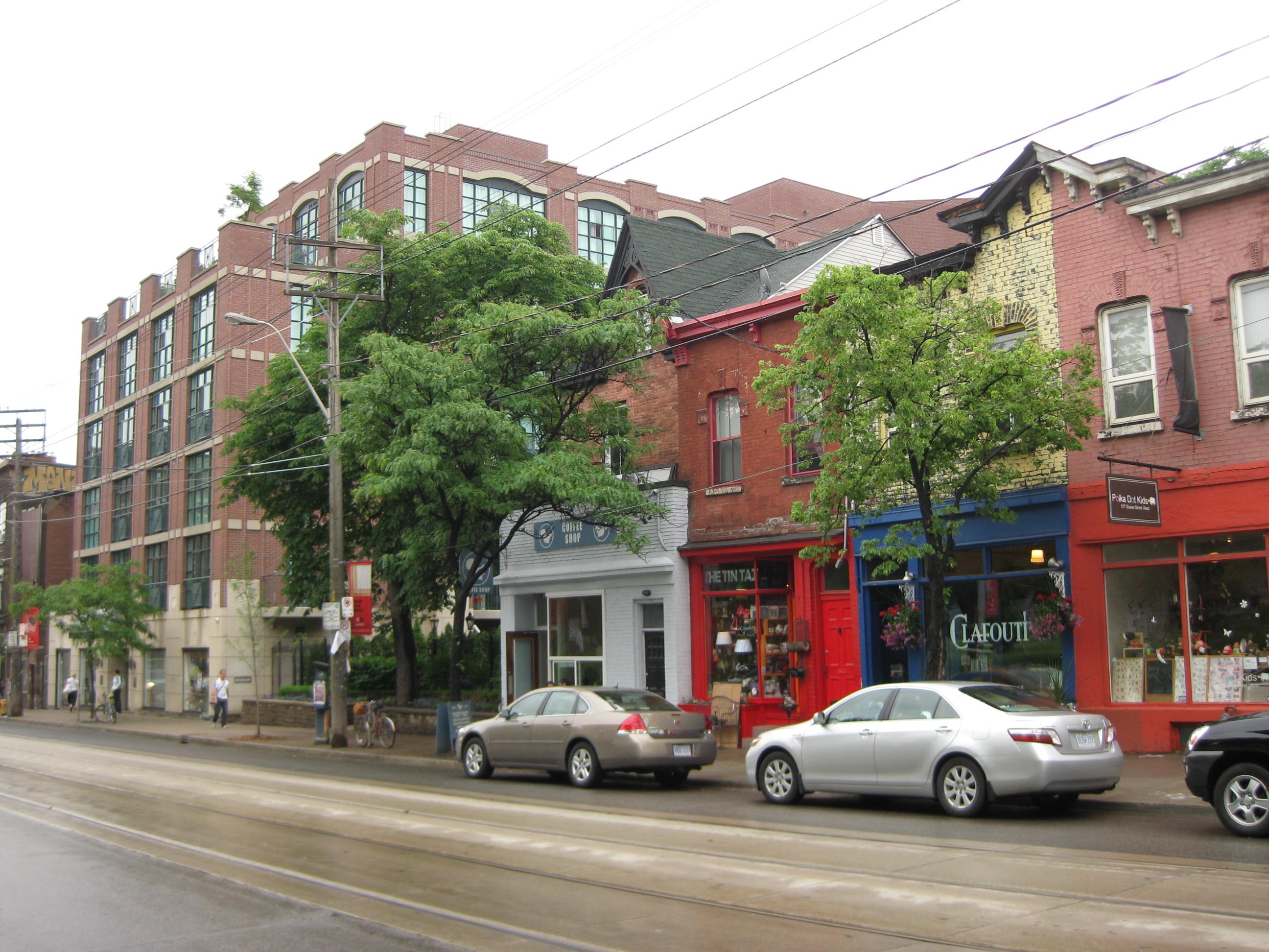 Queen West, Queen Street West, Ontario, Toronto, Canada, Post-Gayborhoods