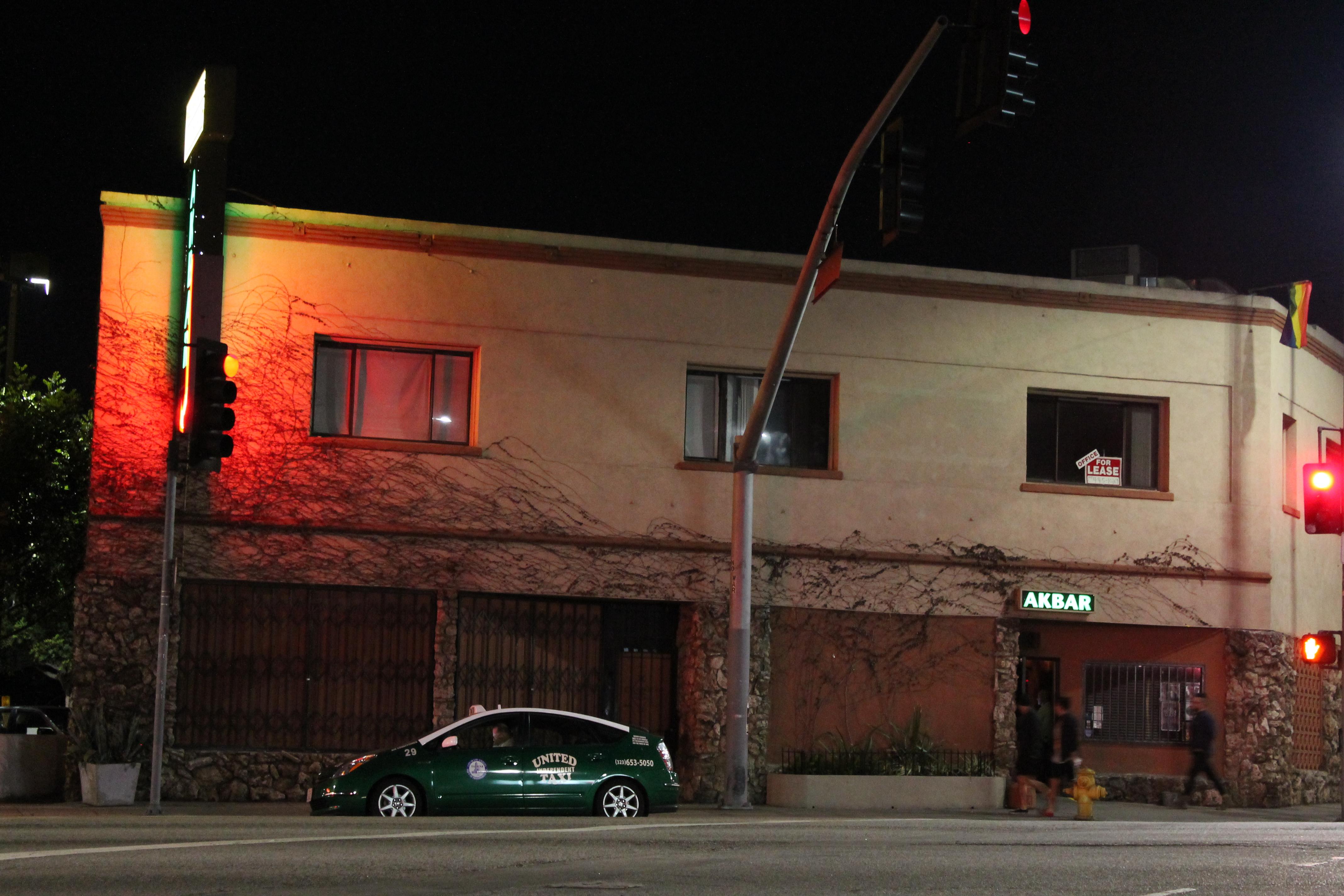 Akbar, Silver Lake, Los Angeles, LA, California, Post-Gayborhoods