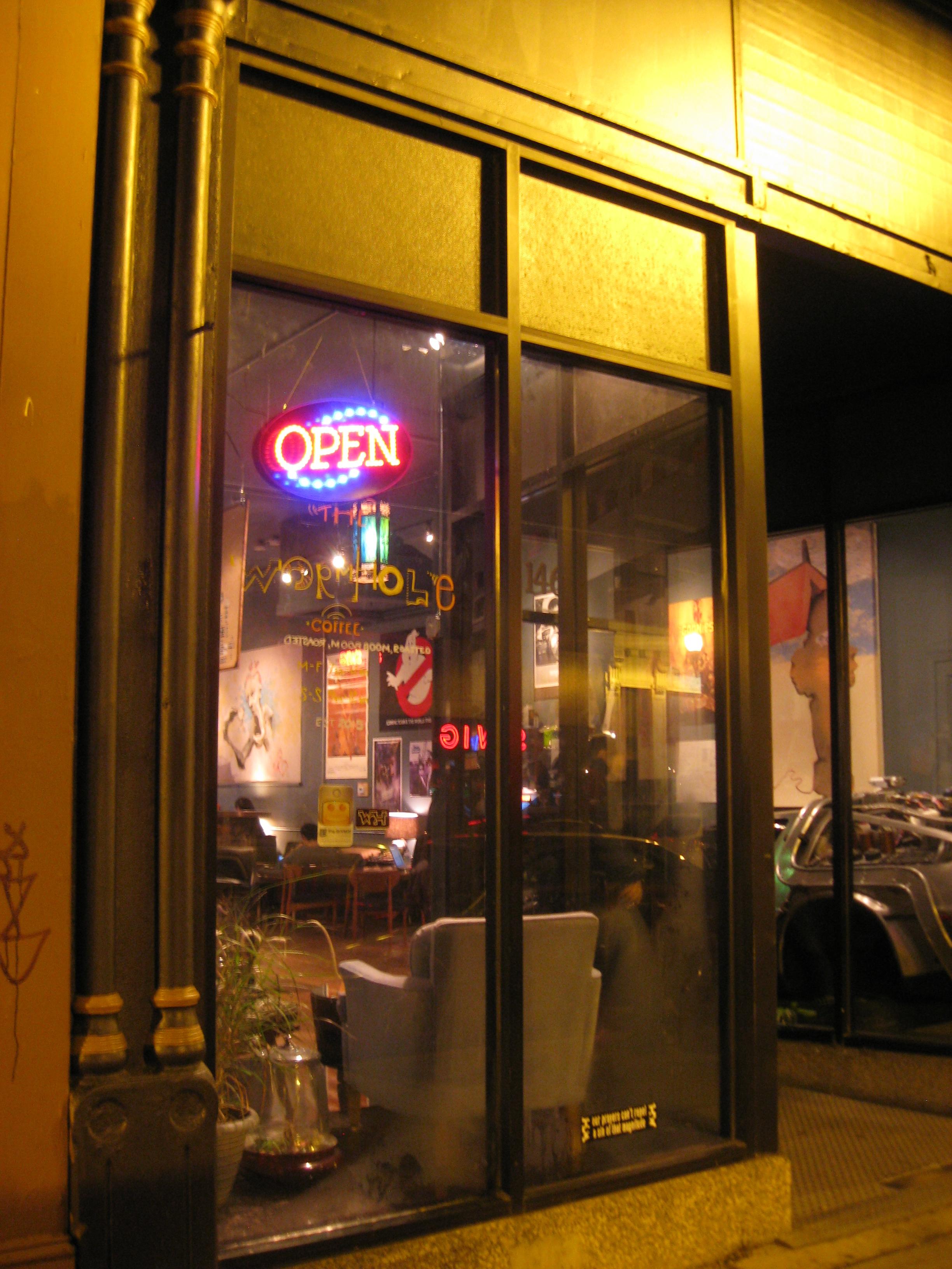 Wormhole Coffee, Wicker Park, Chicago, Illinois, Post-Gayborhoods