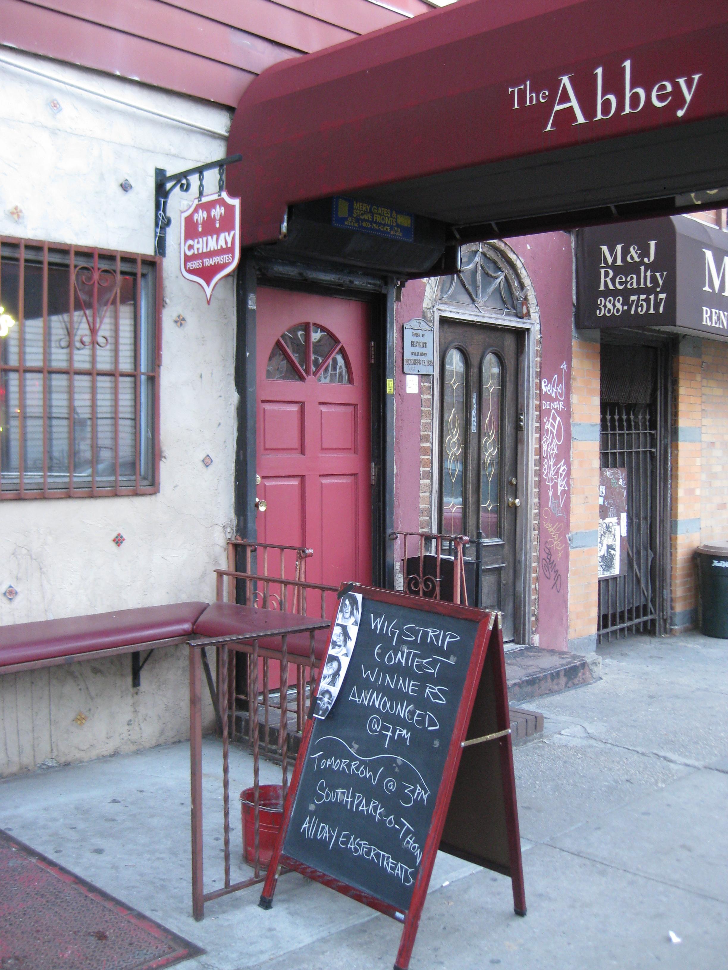 Abbey Bar, Williamsburg, Brooklyn, New York, Post-Gayborhoods