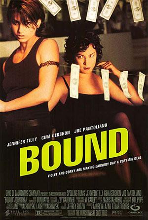 Bound, lesbian noir, Wachowski sisters, movie