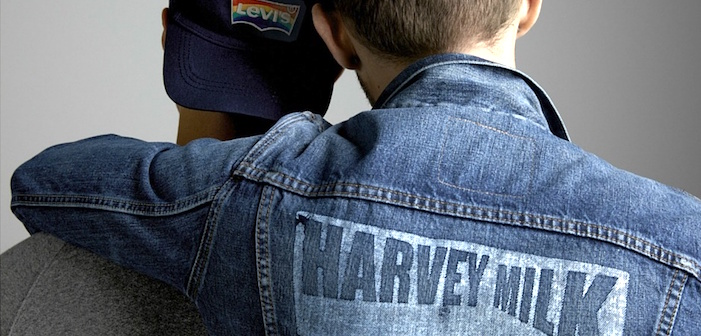 levis, harvey milk foundation, pride, fashion, jeans