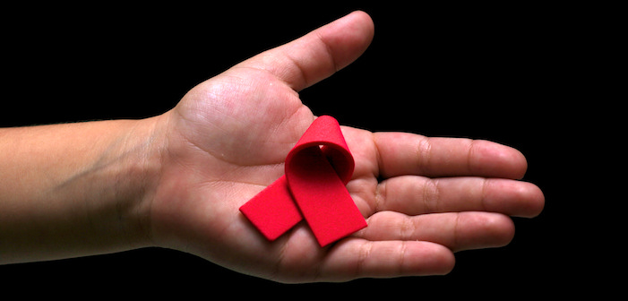 hand, aids ribbon, aids, hiv