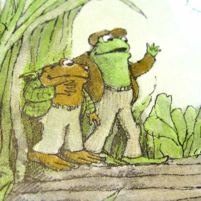 Frog and Toad, children's book, Arnold Lobel, gay, illustration, drawing, physical affection