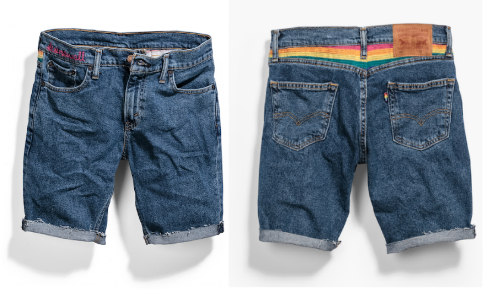 The 2015 Levi's Stonewall Collection Jorts
