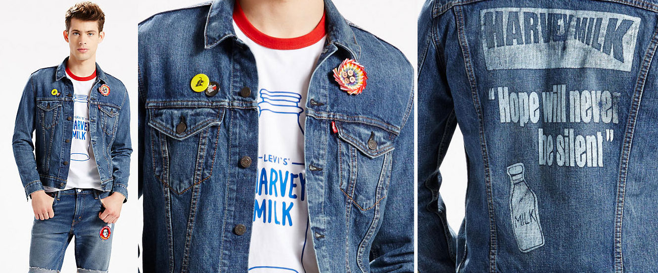 levis, 2016, harvey milk, pride