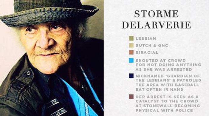 stonewall veterans, survivors, pictures, photos, pic, infographics, LGBT, gay, lesbian, trans, sex worker, Storme Delaverie