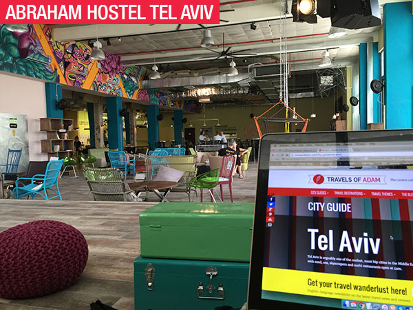 travel, tel aviv, israel, abraham hostel