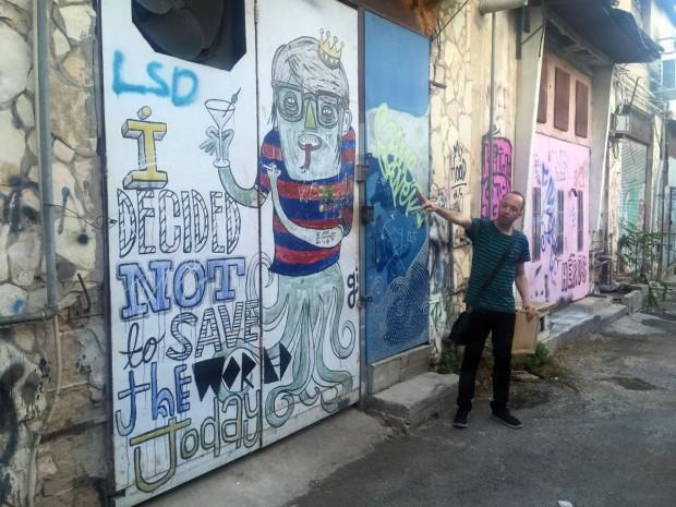 israel, tel aviv, travel, florentin, street art