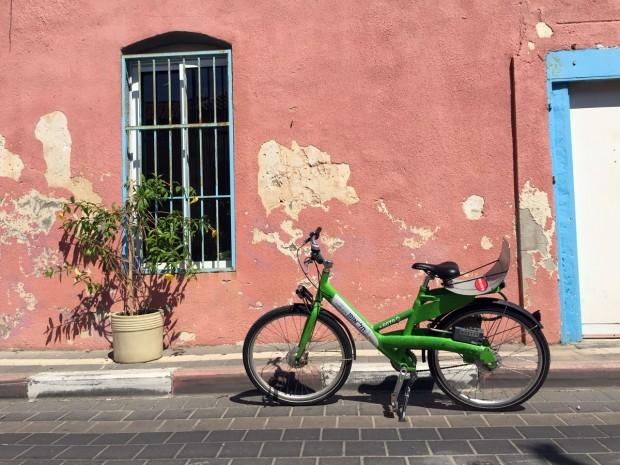 tel aviv, israel, travel, bike
