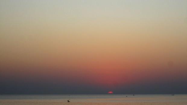 Palolem, Goa, India, sunset