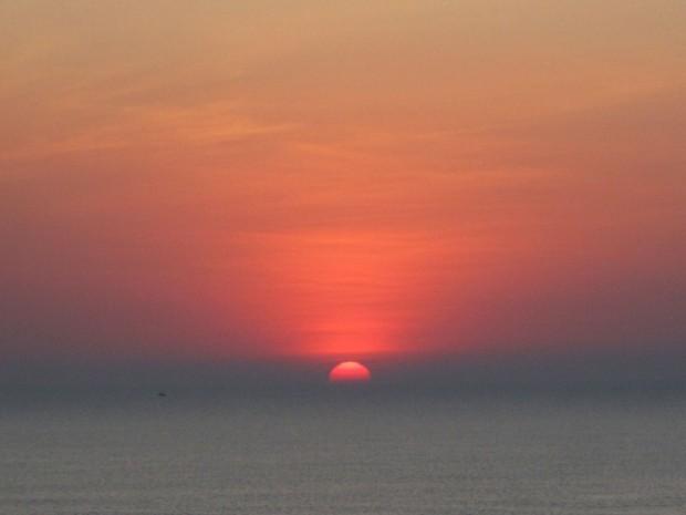 Om Beach, Gokarna, India, sunset