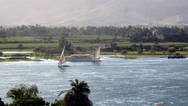 Nile River, Luxor, Egypt