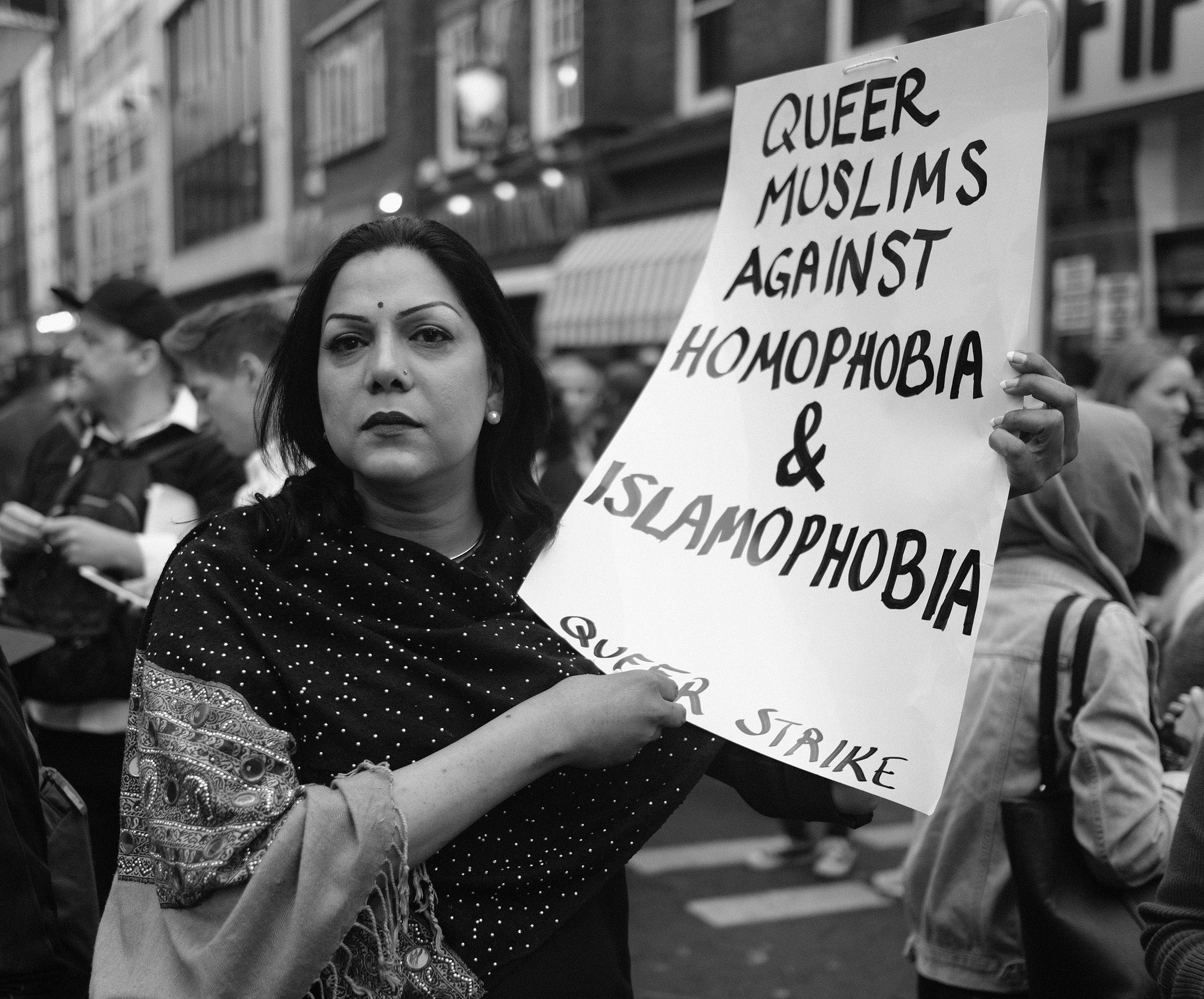 Alisdare Hickson, Queer Muslims Against Homophobia, London, Orlando Shooting, Vigil