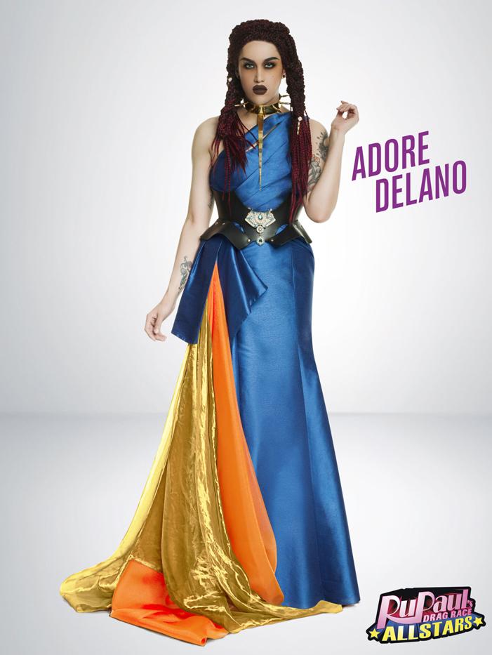 Adore Delano, RuPaul's Drag Race, All Stars 2, drag queen, LOGO TV, gay