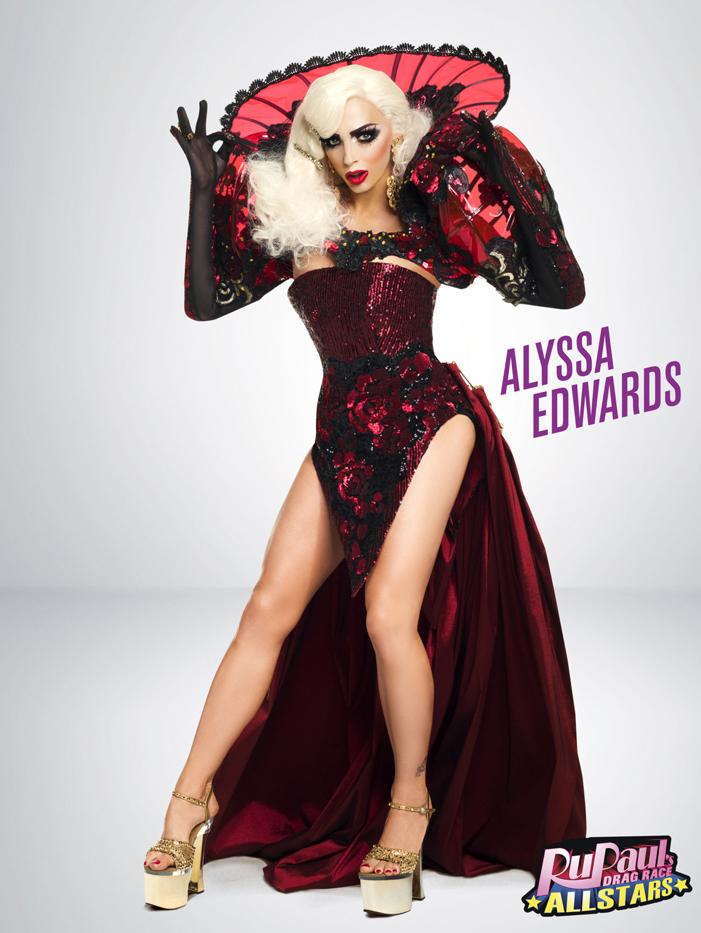 Alyssa Edwards, RuPaul's Drag Race, All Stars 2, drag queen, LOGO TV, gay
