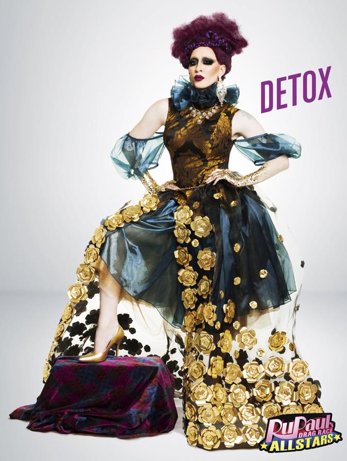 Detox, RuPaul's Drag Race, All Stars 2, drag queen, LOGO TV, gay