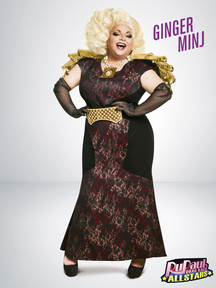 Ginger Minj, RuPaul's Drag Race, All Stars 2, drag queen, LOGO TV, gay