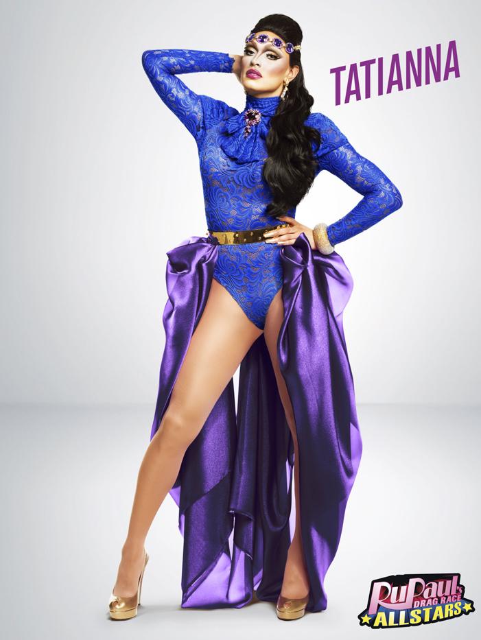 Tatiana, RuPaul's Drag Race, All Stars 2, drag queen, LOGO TV, gay