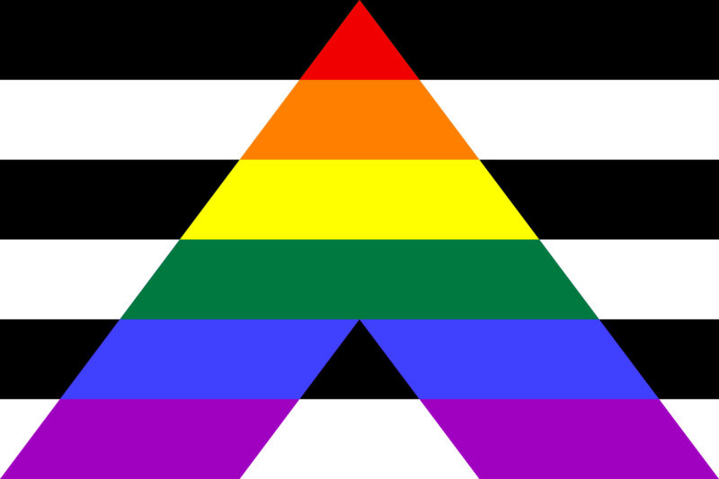 straight ally lgbt flags pride flags