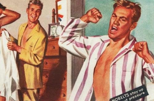 wilson wear, gay advertising, queer, lgbtq, post-war