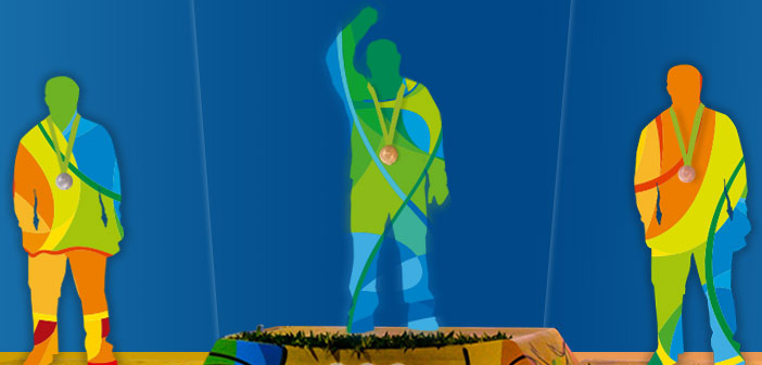 Rio 2016, Summer Olympics, Summer Games, Brazil, medalists, art