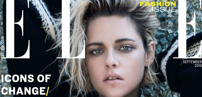 Kristen Stewart, bisexual, actress, comes out, lesbian, Twilight, Elle UK