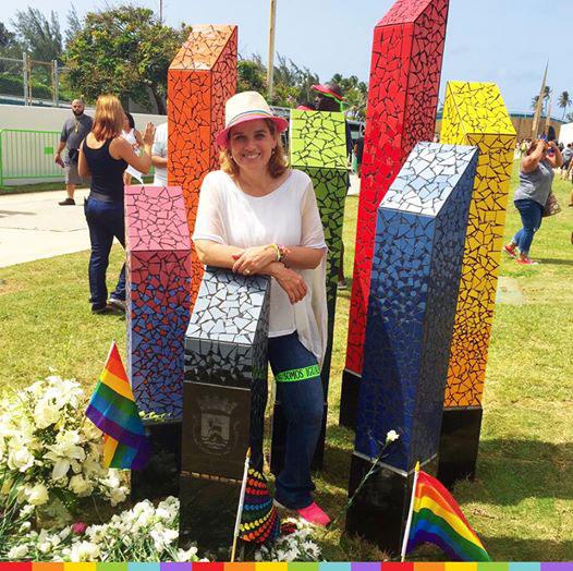 Puerto Rico, LGBT Monument, Pulse Nightclub, Orlando, shooting, gay, Alberto de la Cruz