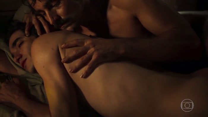Liberdade Liberdade, TV, Brazil, Brazilian, André, Caio Blat, Colonel Tolentino, Ricardo Pereira, gay, sex