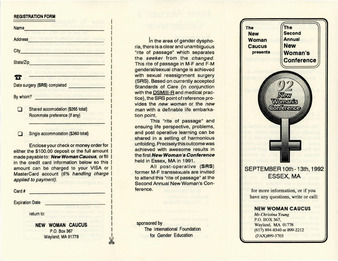 trans history, digital transgender archive, new woman caucus, mtf, transitioning