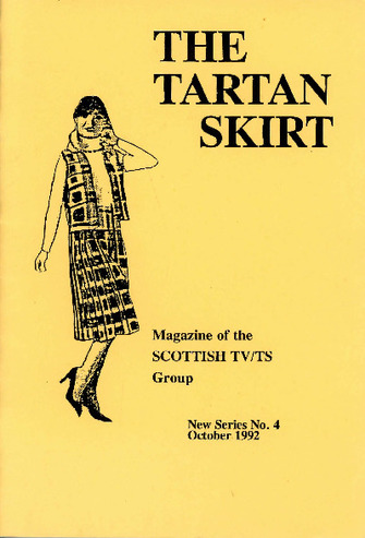 scotland, tartan skirt, digital transgender archive, trans history