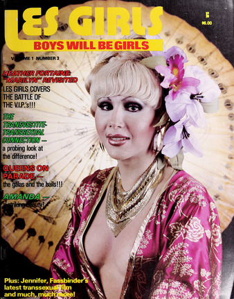 les girls, trans history, magazine, digital transgender archive, internet archive