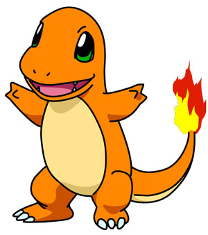 Charmander, Pokémon, monster, creature, fire