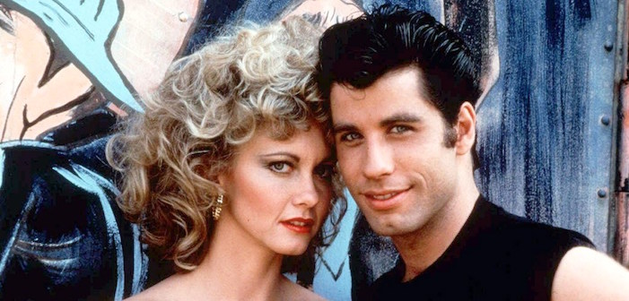 grease, olivia newton-john, john travolta, musicals