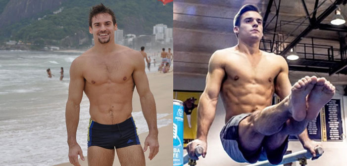 PICS: U.S. Gymnast Sam Mikulak Is Causing a World Thirst Epidemic