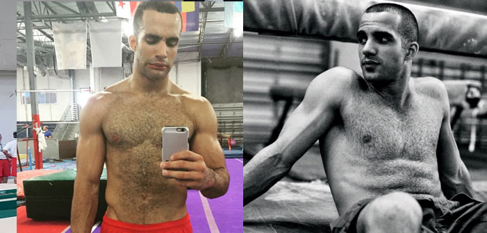 Danell J Levya, sexy, shirtless, United States, Gymnastics, Rio 2016, Olympics, Rio De Janeiro, Sports, muscles