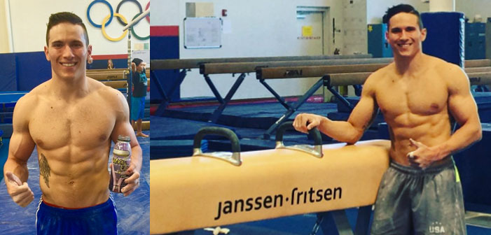 PICS: U.S. Gymnast Alex Naddour Gets Perfect Score for Sexiness