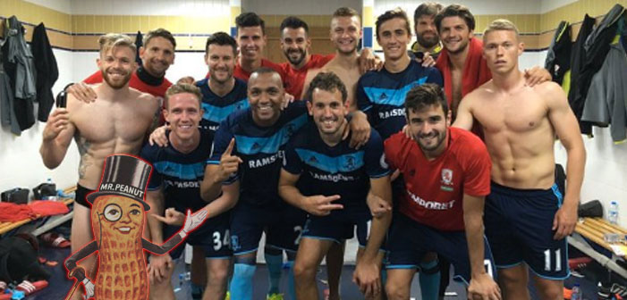 NSFW: Nutty Soccer Player Drops Left Ball into Team Lockerroom Pic
