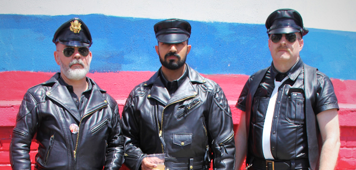 Folsom Street Fair, Dore Alley, San Francisco, Leather