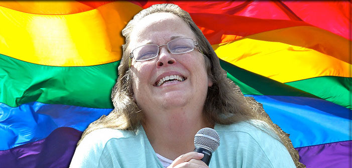 Anti-Gay Clerk Kim Davis' Home County Just Held Its First Pride