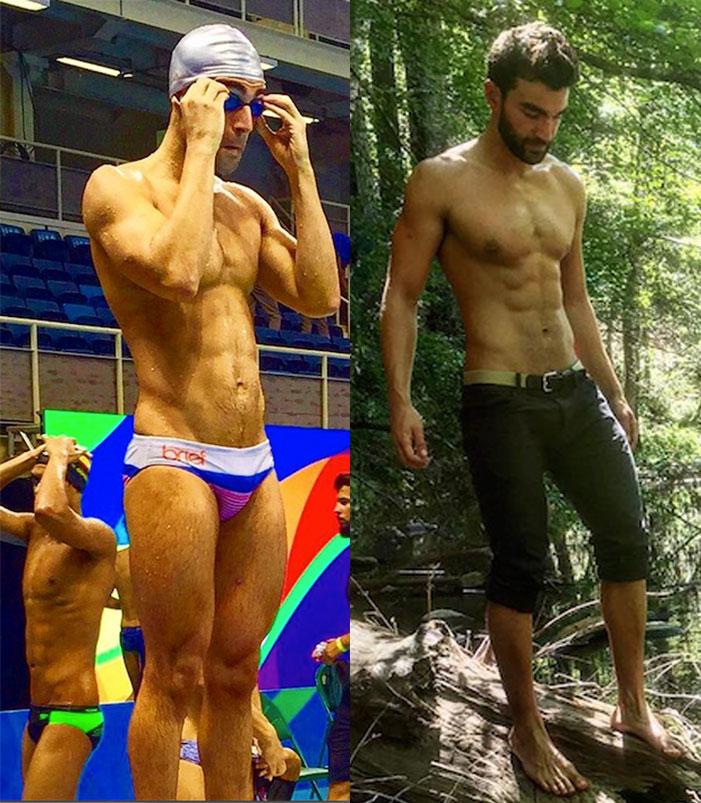 Amini Fonua, Tonga, swimmer, gay, Olympics, 2012, 2016, London, Rio, Summer, speedo, shirtless, sexy