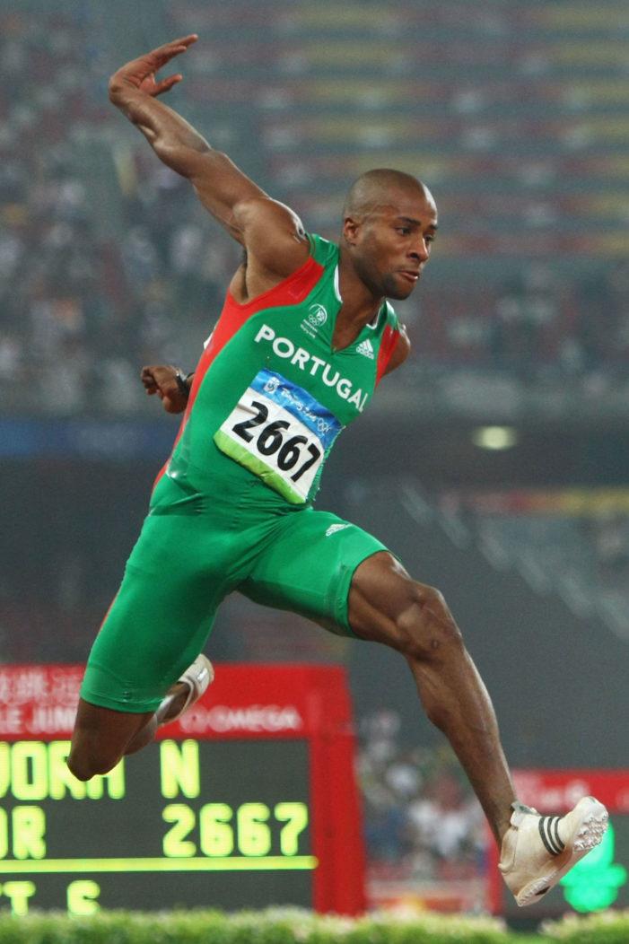 Nelson Evora, Portugal, Olympics, bulge, dick, beijing